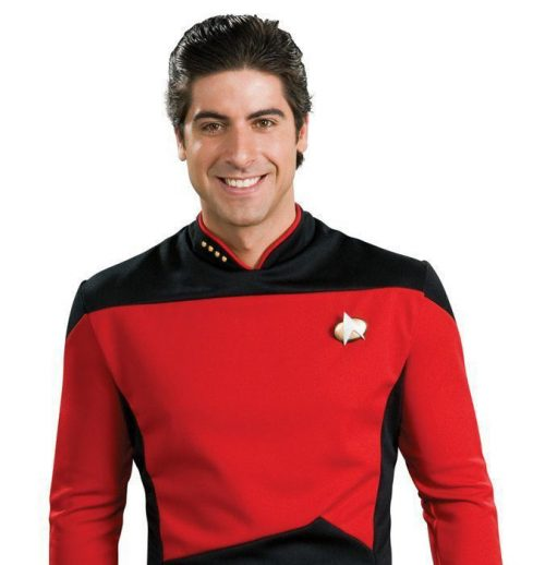 Star Trek Komanndo Kostüm rot