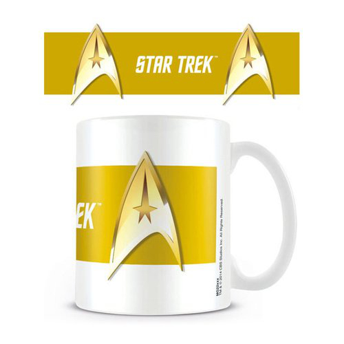 Star Trek Commando Tasse gold
