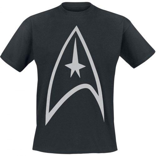 Star Trek T-Shirt schwarz Sternenflotte