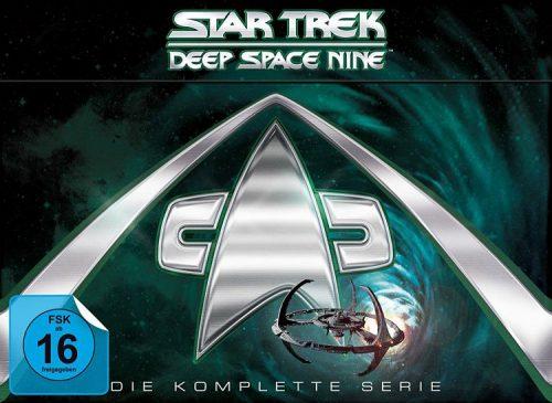 Star Trek DS9 DVD Box komplett