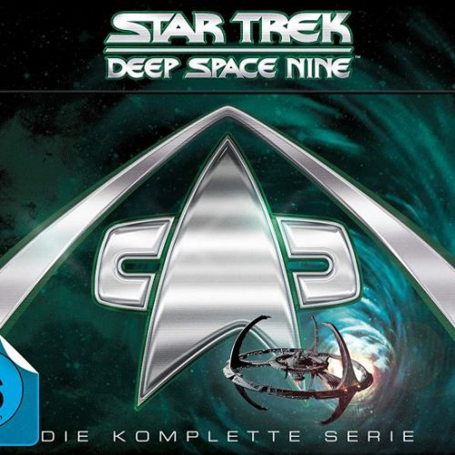 Star Trek DS9 DVD Box komplett