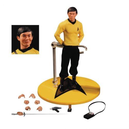 Hikaru Sulu Action-Figur von Mezco