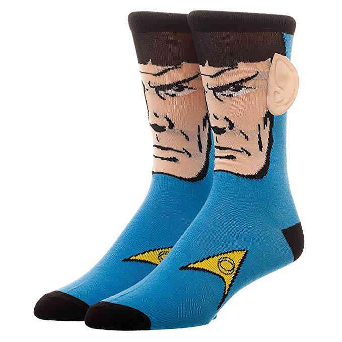 "Star Trek Socken ""Spock Motiv"" mit 3D Ohren"