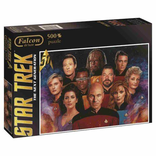 Star Trek Puzzle mit der TNG Crew