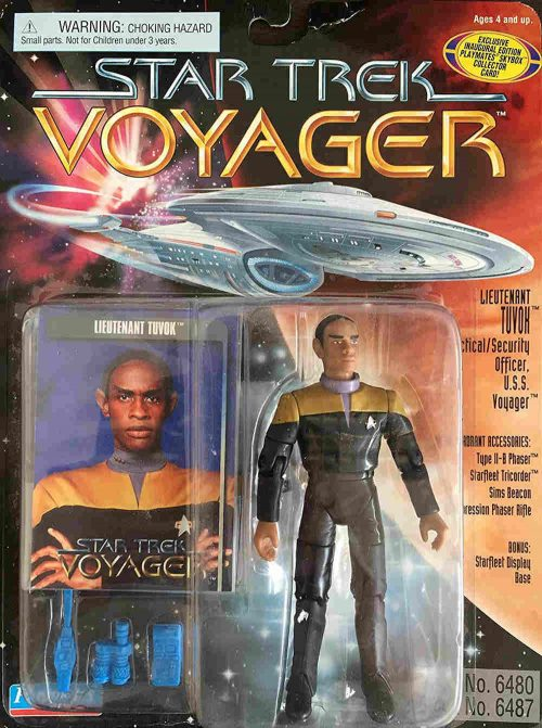 Commander Tuvok Actionfigur Playmates aus den 90ern