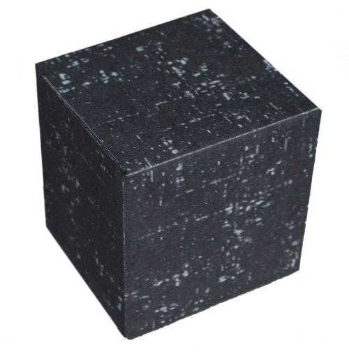 Borg Kubus aus Papier selber gefaltet & geklebt