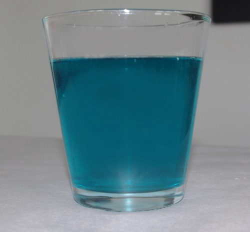 Glas mit romulanischem Ale