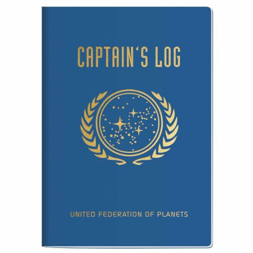"Star Trek Notizbuch ""Captains Log"""