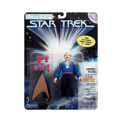 TOS Version von Harry Mudd Star Trek Actionfigur
