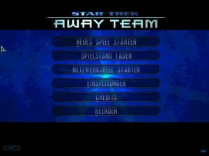 Star Trek Away Team Menue