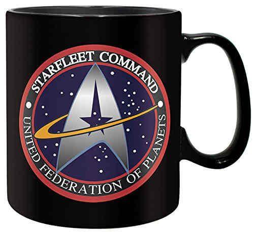 Star Trek Tasse Schwarz