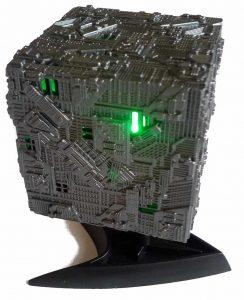 Star Trek Borg Kubus Modell