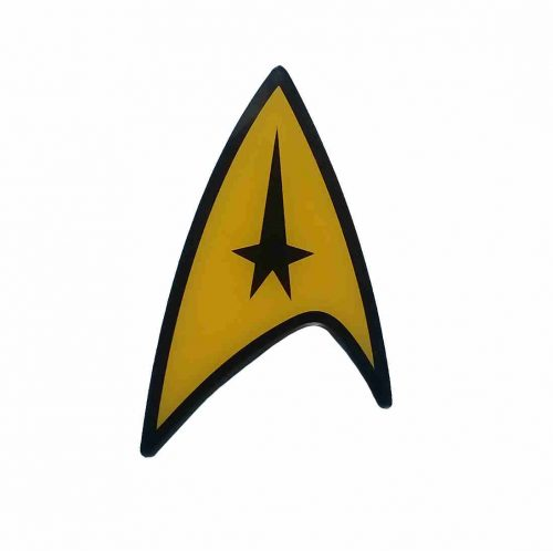 """Star Trek Lesezeichen von """"IF"""" - Motiv Insignia"""
