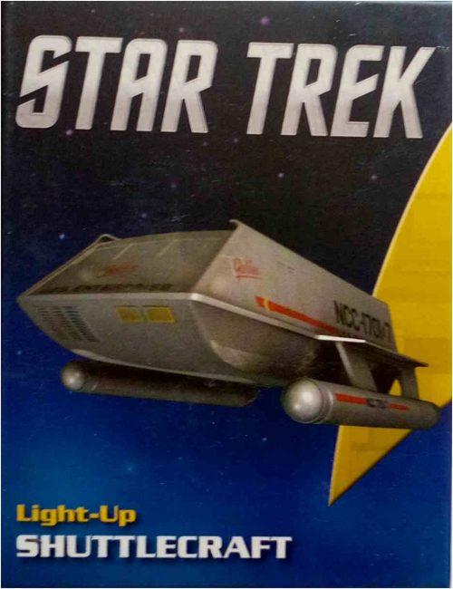 Star Trek Shuttle Running Press Box