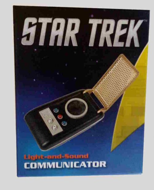 Star Trek Communicator Verpackung Running Press
