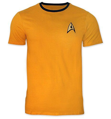 Star Trek Shirt Captain Kirk Uniform Shirt