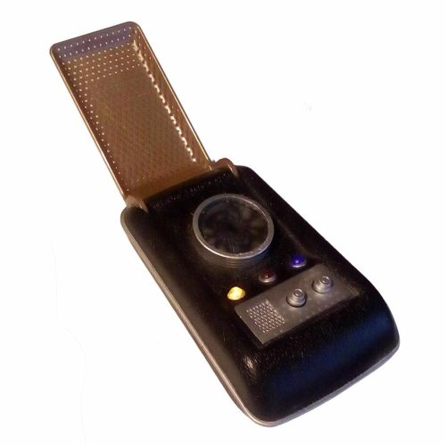 Star Trek TOS Communicator mit Licht- u. Soundeffekten - von Diamond Select
