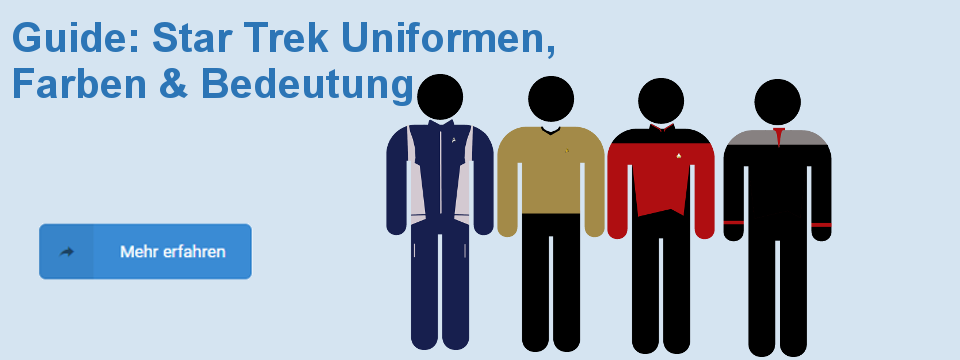 Star Trek Uniformen Farben Guide