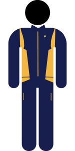 Discovery Uniform Gold Kommando