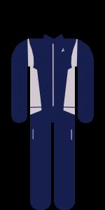 Discovery Uniform Silber Wissenschaft