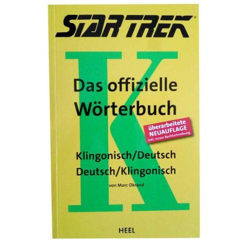 Star Trek Klingonisch lernen. Offizielles Wörterbuch