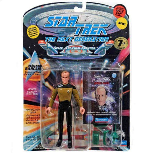 Star Trek Actionfigur 1994 Barclay