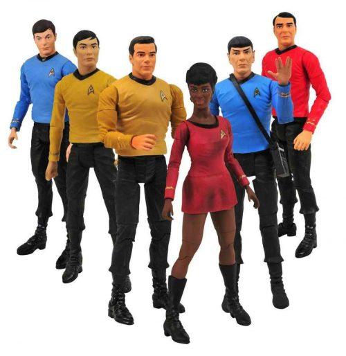 Star Trek TOS Actionfiguren &er Set