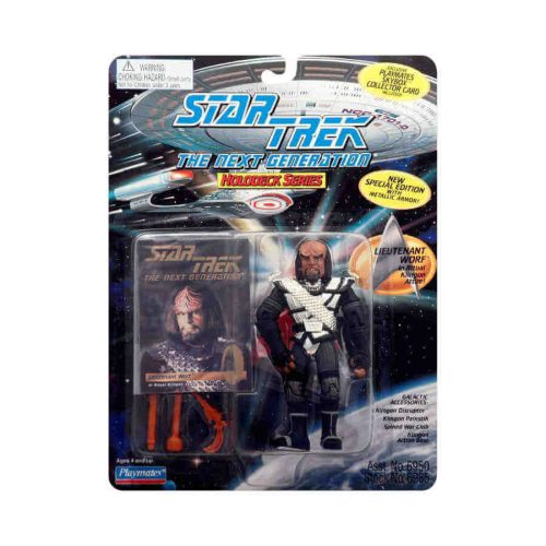 TNG Worf Actionfigure von Playmates
