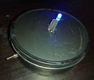 Warpkern Sockel mit LED