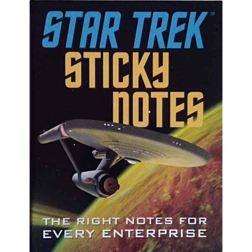 Star-Trek-Notizzettel Buch
