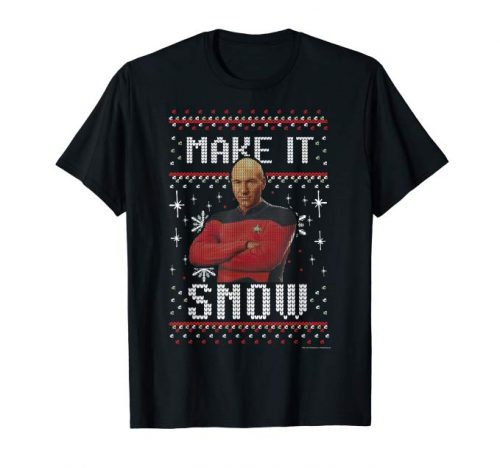 Picard make it snow shirt
