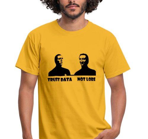 trustdatanotlore shirt gelb