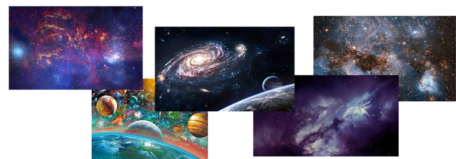 galaxie puzzles banner