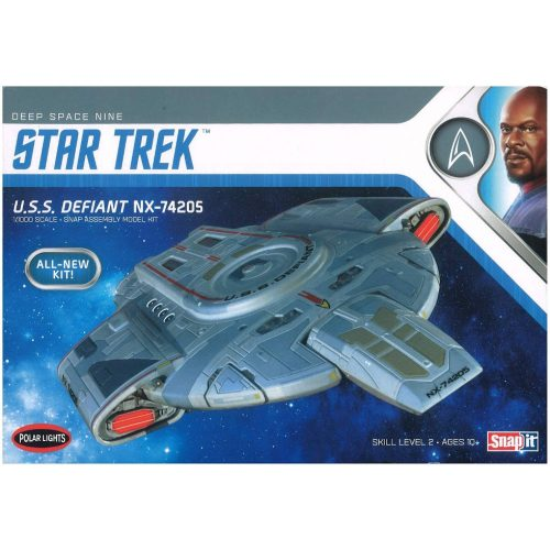 uss defiant modell von Polar Lights