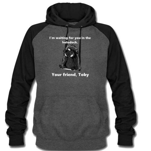 toby the targ hoodie m w