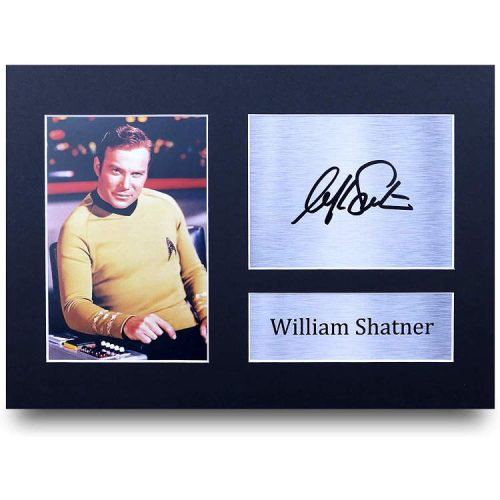 Captain Kirk Autogramm (William Shatner)