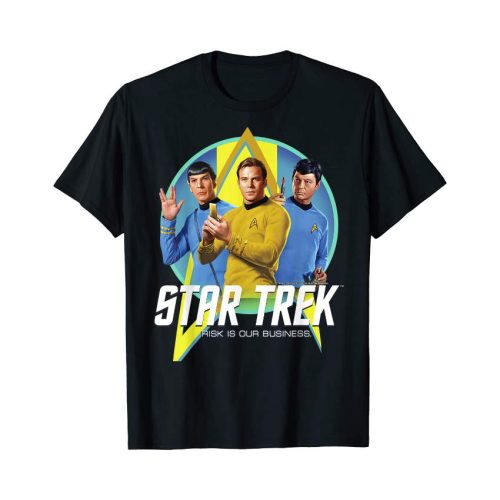 Star Trek TOS Shirt Risk is our business