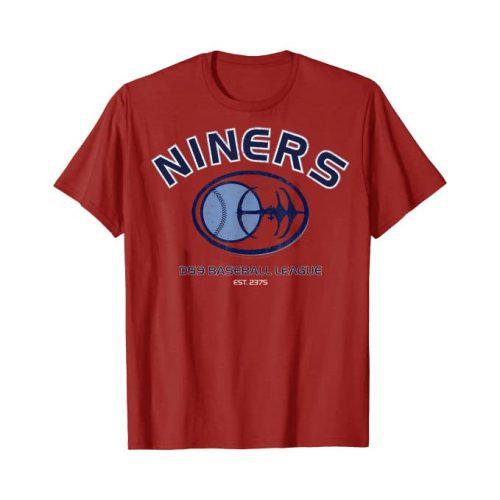 Star Trek Deep Space Nine Shirt Motiv Niners Baseball