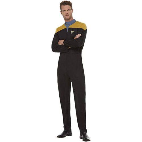 Star Trek Voyager DS9 Uniform gelb