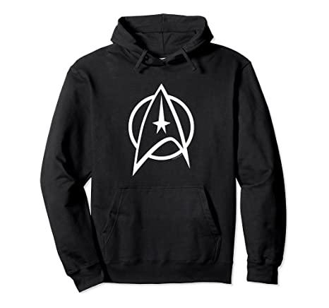 TOS Insignia Star Trek Hoodie klassisch