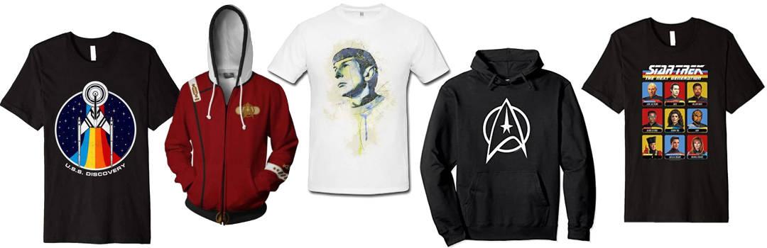 star trek shirts und hoodies