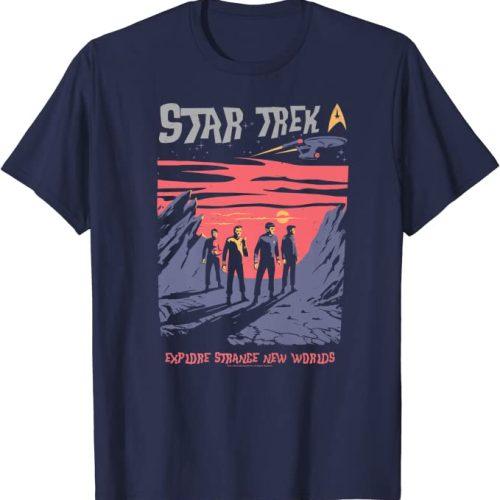 Star Trek Shirt strange new worlds