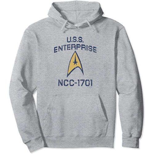 star trek hoodie TOS badge