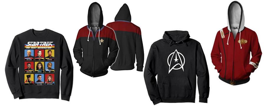 star trek hoodies pullover