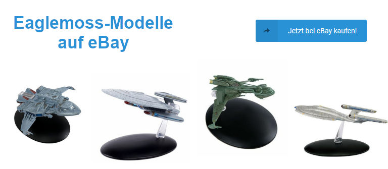 eaglemoss star trek schiffsmodelle