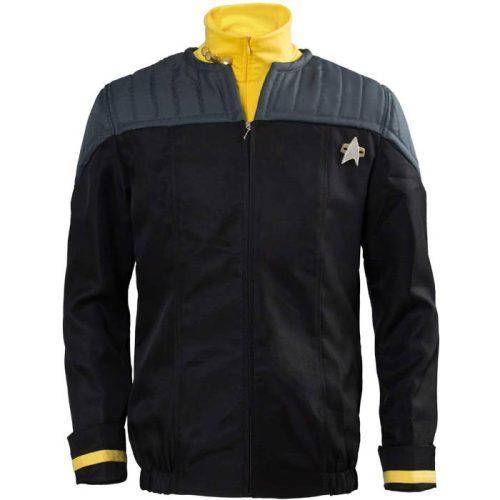 Star Trek Deep Space Nine Uniform gelb