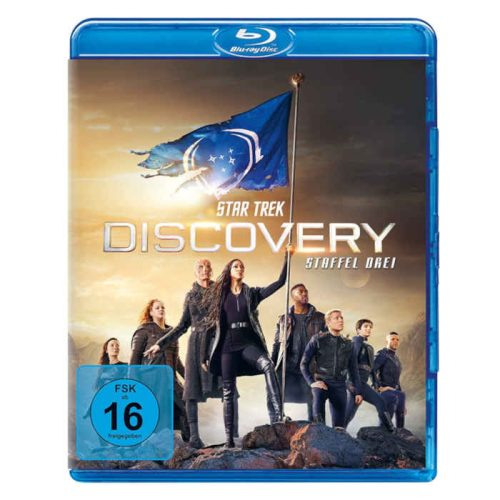 Star Trek Discovery Staffel 3 Blu Ray DVD